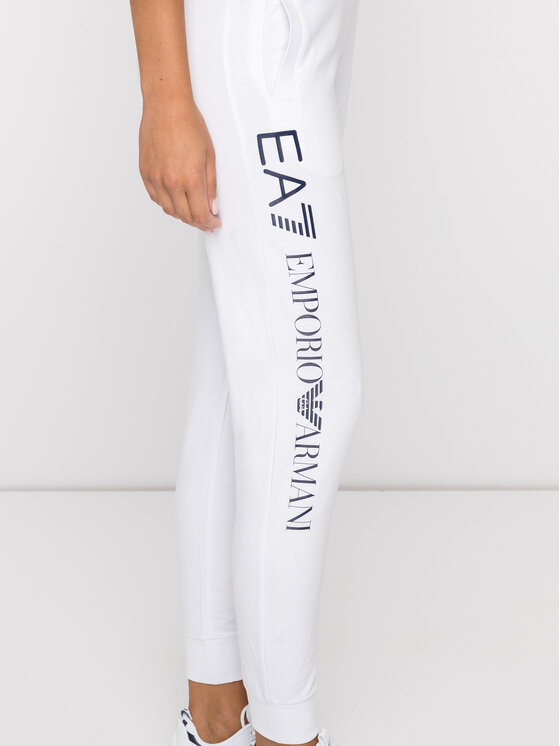 EA7 Emporio Armani EA7 Emporio Armani Долнище анцуг 8NTP87 TJ31Z 1100 Бял Regular Fit