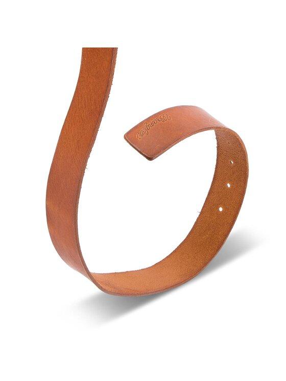 Wrangler Wrangler Ζώνη Ανδρική Rolla Belt W0B61U181 85 Καφέ