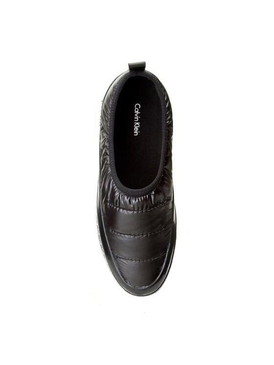 Calvin Klein Calvin Klein Κλειστά παπούτσια Sybil Quilted N11835 Μαύρο