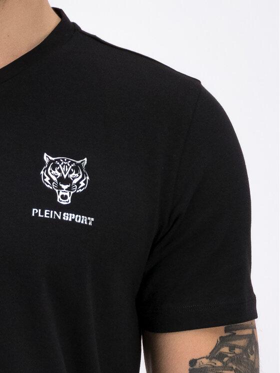 Plein Sport Plein Sport Marškinėliai F19C MTK3803 SJY001N Juoda Regular Fit