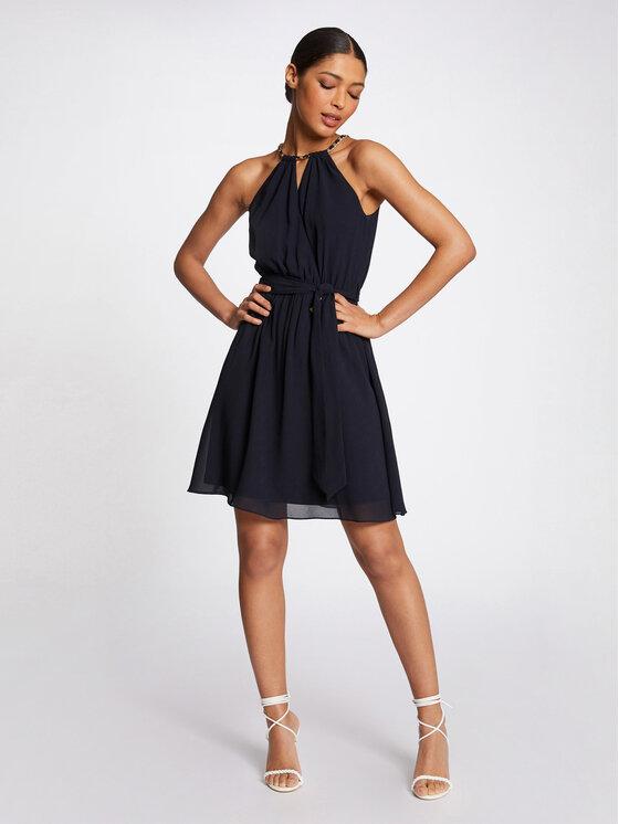 Morgan Morgan Sukienka koktajlowa 211-RNESSA Granatowy Regular Fit
