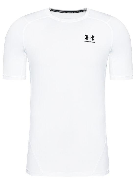 Under Armour Under Armour Koszulka techniczna Ua HeatGear® Armour 1361518 Biały Compression Fit