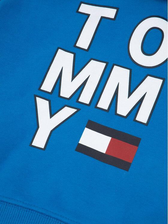 Tommy Hilfiger Tommy Hilfiger Mikina Multi Graphic KB0KB05479 M Modrá Regular Fit