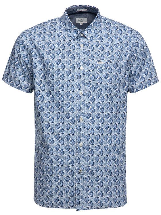 Pepe Jeans Pepe Jeans Košeľa Carter PM305802 Modrá Regular Fit