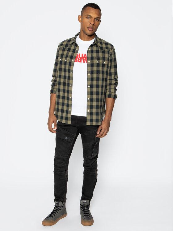 Dsquared2 Dsquared2 T-Shirt Cool S74GD0635 Bílá Regular Fit