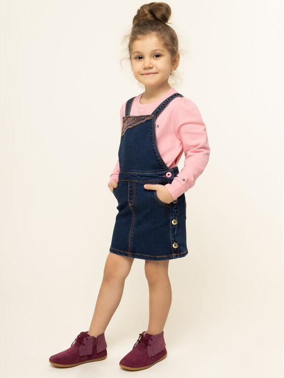 Billieblush Billieblush Ежедневна рокля U12497 Тъмносин Regular Fit