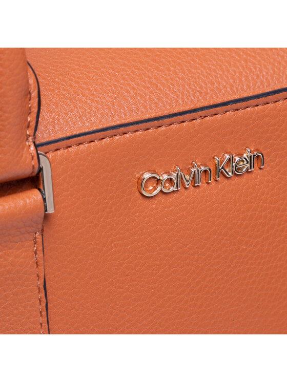 Calvin Klein Calvin Klein Torebka Tote Md K60K608243 Brązowy