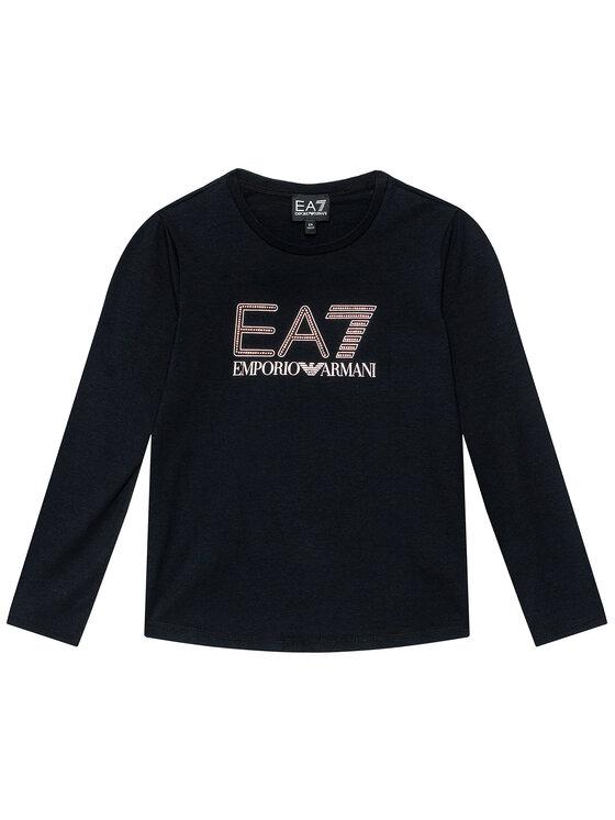 EA7 Emporio Armani EA7 Emporio Armani Bluzka HFT55 FJ5GZ 1200 Czarny Regular Fit
