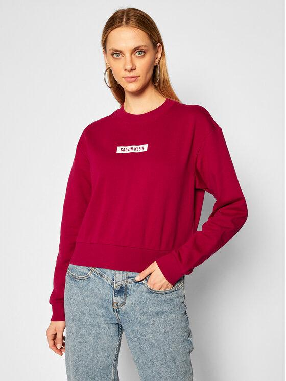 Calvin Klein Performance Džemperis 00GWF0W348 Rožinė Regular Fit