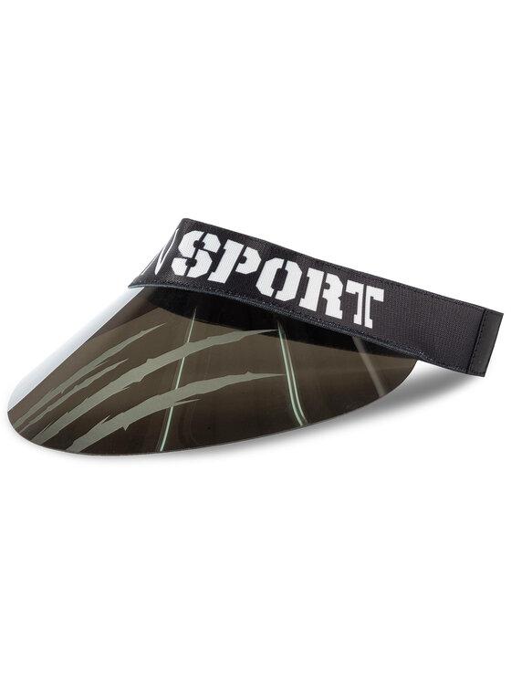 Plein Sport Snapelis Visor Hat 000 MAC0396 STE003N Sidabrinė