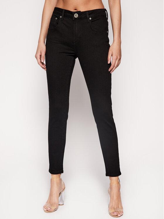 One Teaspoon jeansy_skinny_fit Freebirds 22954 Juoda Slim Fit