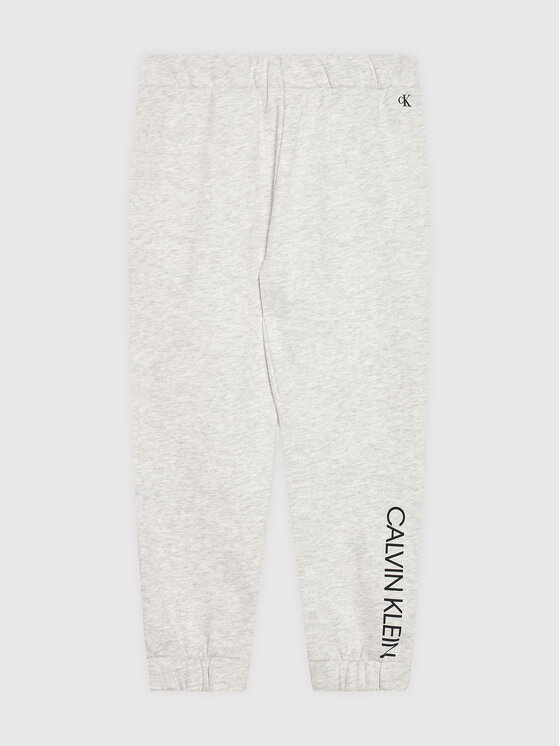Calvin Klein Jeans Calvin Klein Jeans Dres Logo Boxy IG0IG01060 Szary Regular Fit