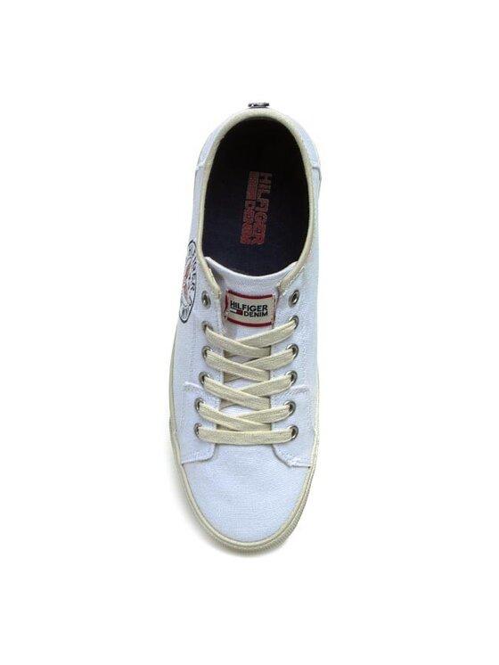 Tommy Hilfiger Tommy Hilfiger Πάνινα παπούτσια EM56817021 Λευκό