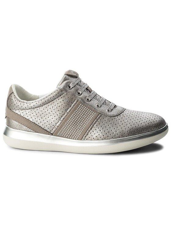 Geox Geox Sneakersy D Gomesia B D828GB 0CD22 C1010 Srebrny