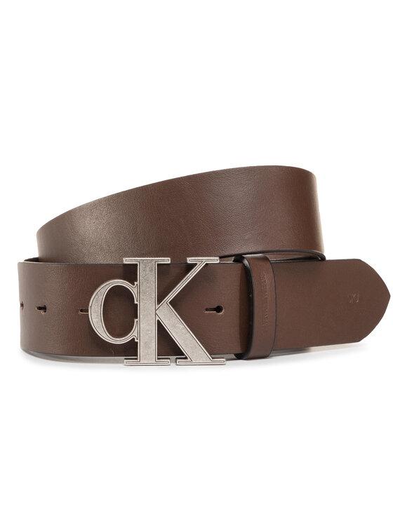 Calvin Klein Jeans Calvin Klein Jeans Pasek Męski Ckj Mono Hardware 35Mm K50K505856 Brązowy
