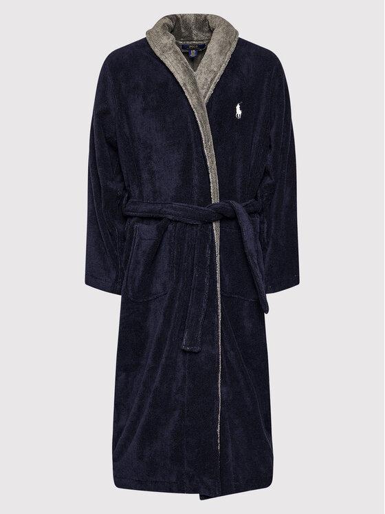 Polo Ralph Lauren Polo Ralph Lauren Szlafrok 714854533001 Granatowy