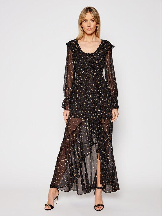 For Love & Lemons Komplektas: marškinėliai ir kasdieninė suknelė Juliana CD2274 Juoda Regular Fit
