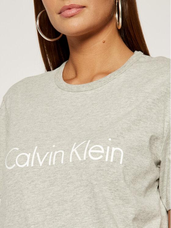 Calvin Klein Underwear Calvin Klein Underwear T-Shirt 000QS6105E Szary Regular Fit
