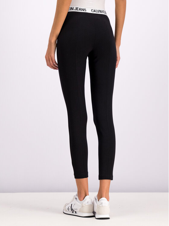 Calvin Klein Jeans Calvin Klein Jeans Legginsy Milano J20J212177 Czarny Slim Fit