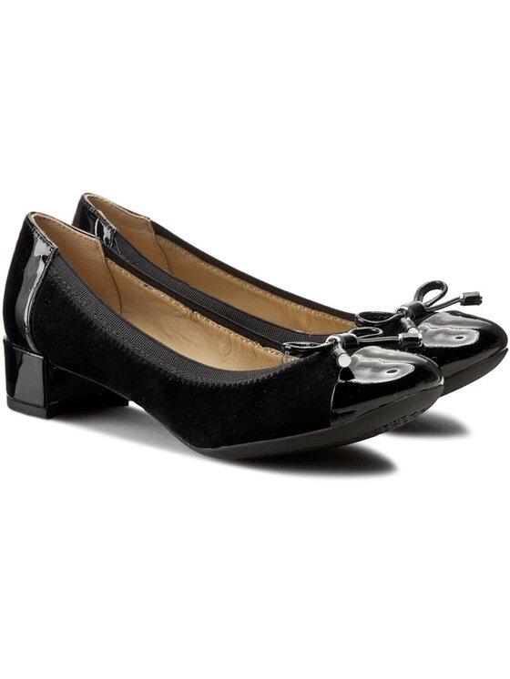 Geox Geox Обувки D Carey A D54V8A 021HH C9999 Черен