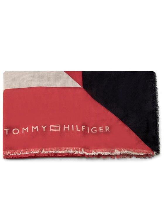 Tommy Hilfiger TOMMY HILFIGER Szal Geometric Shawl AW0AW03854