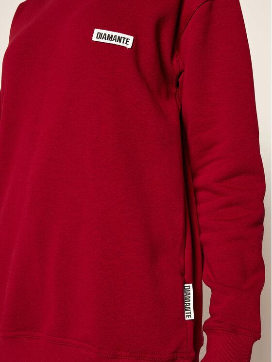 Diamante Wear Diamante Wear Golf Unisex Basic 5380 Bordowy Regular Fit
