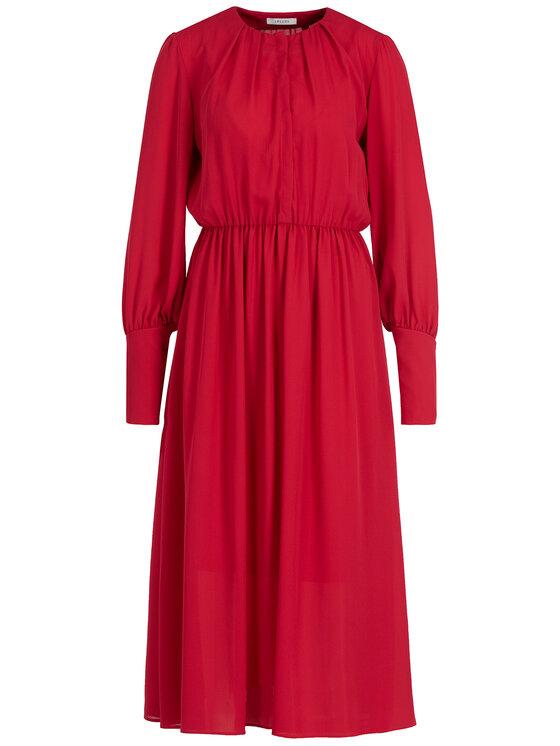 iBlues iBlues Koktejlové šaty 72262896200 Červená Regular Fit