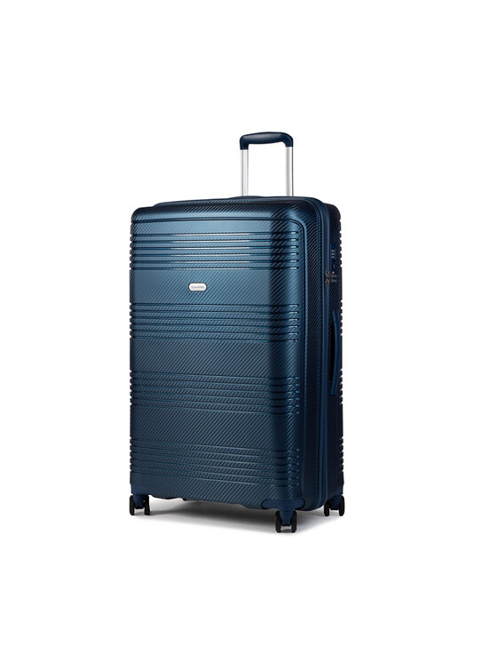 Travelite Didelis Kietas Lagaminas Zenit 75749-20 Tamsiai mėlyna