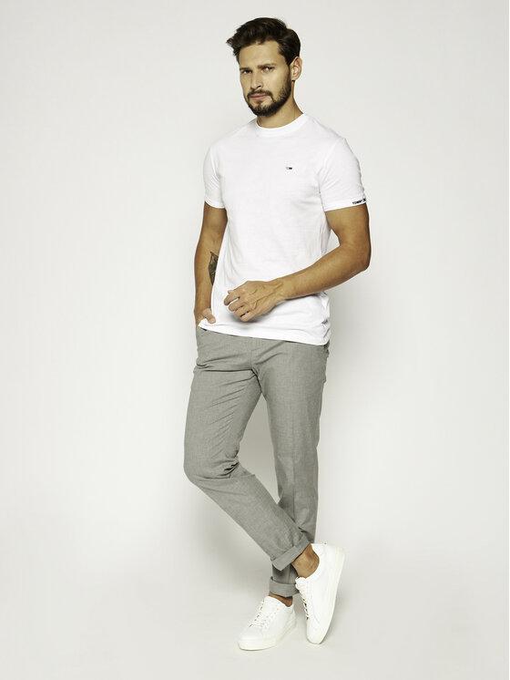 Tommy Jeans Tommy Jeans T-Shirt Tjm Texture Detail Tee DM0DM07812 Λευκό Regular Fit