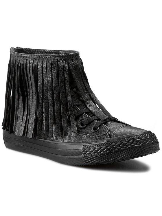 Converse Converse Sneakers aus Stoff Ctas Fringe Hl 551641C Schwarz