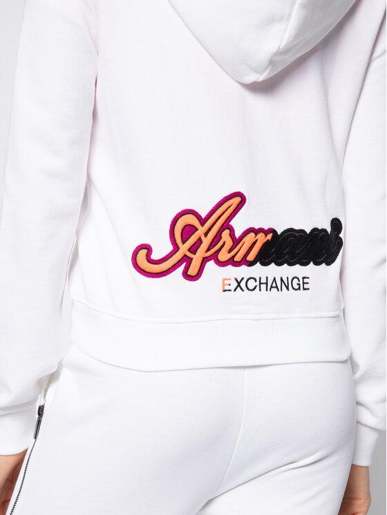 Armani Exchange Armani Exchange Bluză 3HYM04 YJ95Z 1100 Alb Regular Fit
