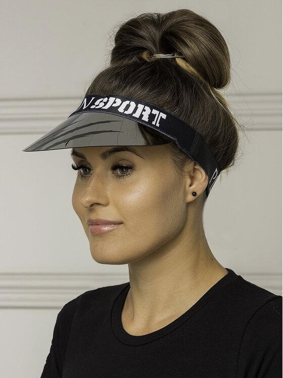 Plein Sport Plein Sport Καπέλο Jockey Visor Hat Statement MAC0436 Μαύρο