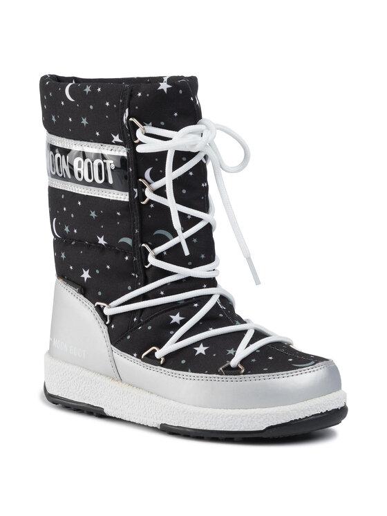 Moon Boot Sniego batai Jr Girl Q.Universe Wp 34052100001 M Juoda