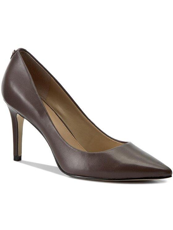 Guess Guess Обувки на ток Ele7 FLEL73 LEA08 Кафяв