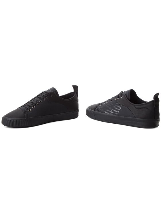 Emporio Armani Emporio Armani Laisvalaikio batai X4X240 XL456 K001 Juoda