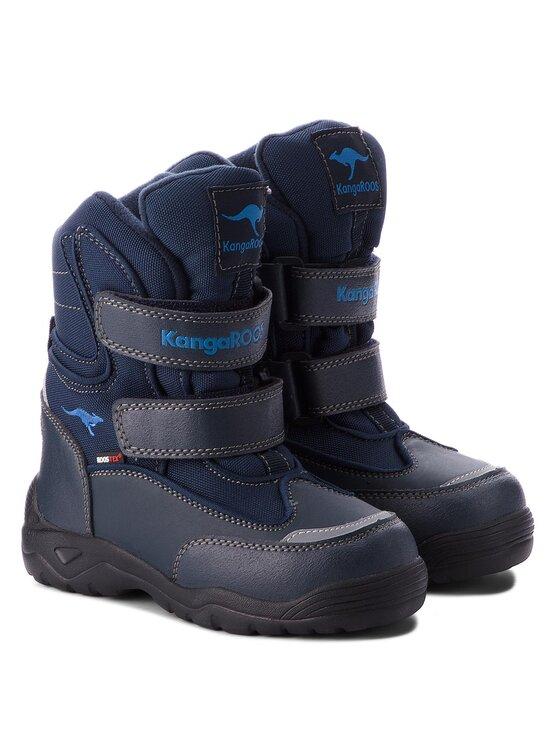 KangaRoos KangaRoos Μπότες Χιονιού Lenoxx II 1377A 000 440 Σκούρο μπλε