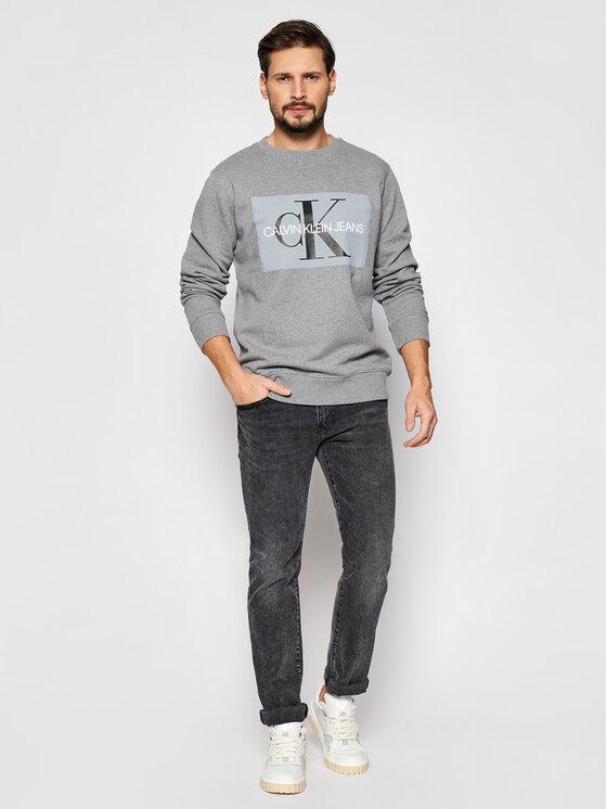 Calvin Klein Jeans Calvin Klein Jeans Bluza J30J307742 Szary Regular Fit