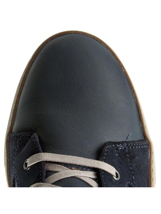 Clarks Clarks Μποτίνια Lorsen Mid 261218757 Σκούρο μπλε