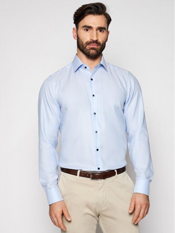 Roy Robson Marškiniai 1237-80 Mėlyna Slim Fit