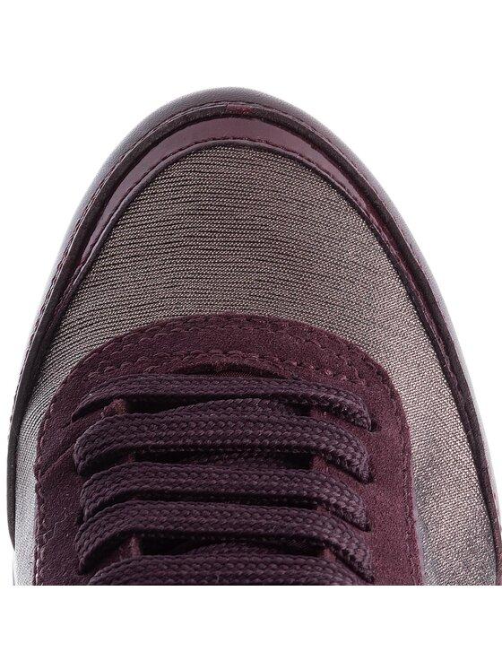 Geox Geox Sneakersy D Aneko B Abx A D843FA 0LYMC C6M7J Bordó