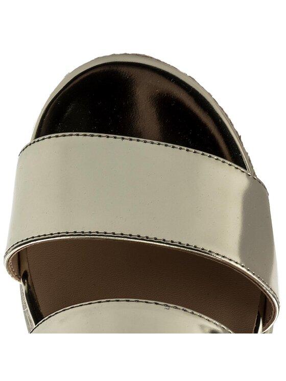Liu Jo Liu Jo Espadryle Sandalo Platform S18067 P0231 Złoty