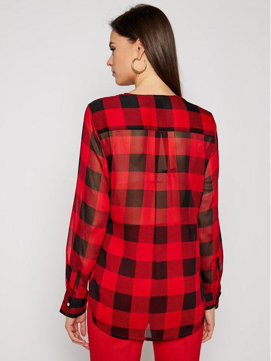 DKNY DKNY Bluzka P0JAVCMH Czerwony Regular Fit