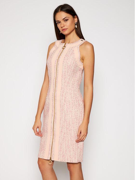 Marciano Guess Kokteilinė suknelė Victoria 0BG729 9367Z Rožinė Slim Fit