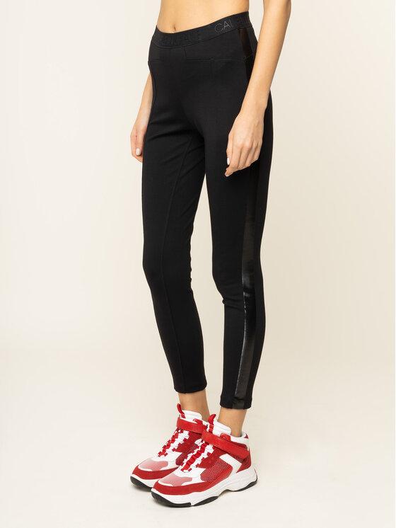 Calvin Klein Jeans Calvin Klein Jeans Stoffhose J20J212916 Schwarz Regular Fit