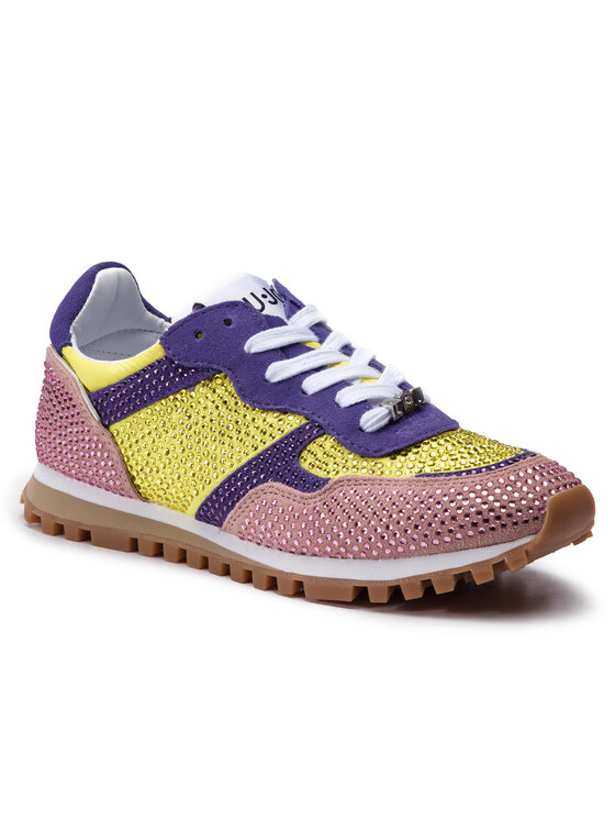 Liu Jo Liu Jo Sneakersy Alexa BXX049 PX040 Żółty