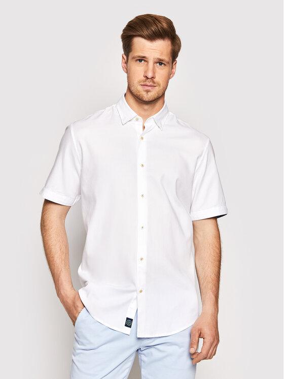 Pierre Cardin Marškiniai 53914/000/27150 Balta Modern Fit