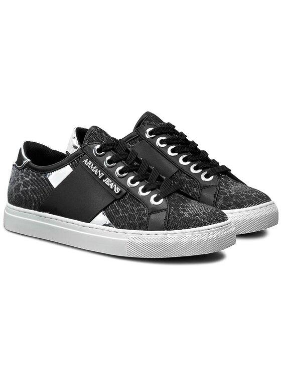 Armani Jeans Armani Jeans Sneakers 925207 7P596 00020 Negru