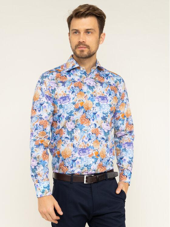 Eton Marškiniai 100000351 Spalvota Slim Fit