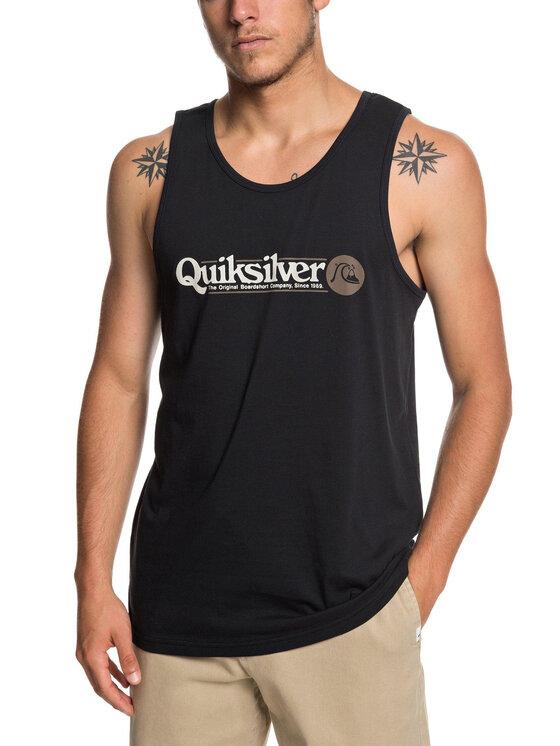 Quiksilver Quiksilver Tank top EQYZT05289 Μαύρο Regular Fit