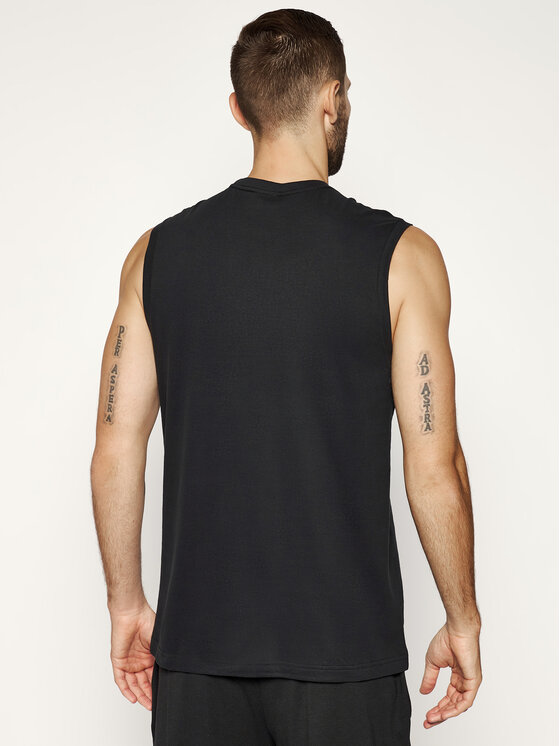 Calvin Klein Calvin Klein Komplektas: tank top marškinėliai (2 vnt.) 000NM1687A Juoda Regular Fit